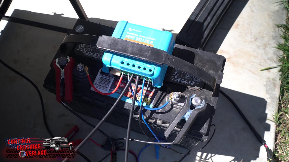 victron smartsolar 100-20 solar charge controller test osha continue crushing overland