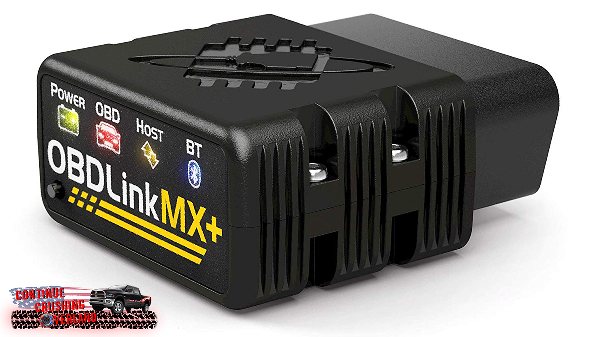 obdlink mx and mx plus alpha obd ram continue crushing overland