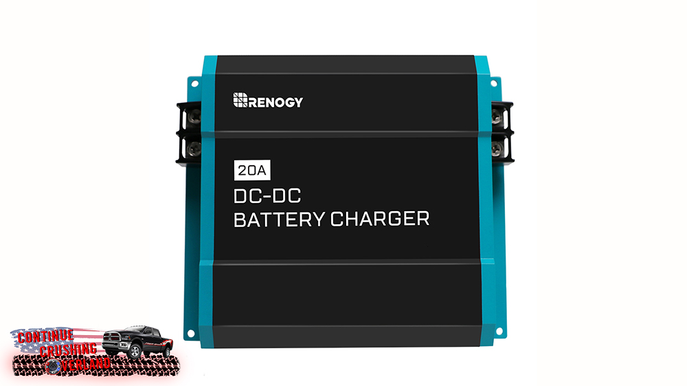 renogy dc to dc charger on board continue crushing overland