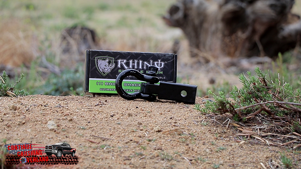 rhino usa hitch receiver out of box continue crushing overland