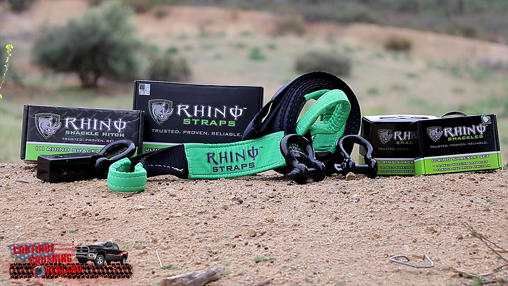 rhino usa recovery gear continue crushing overland
