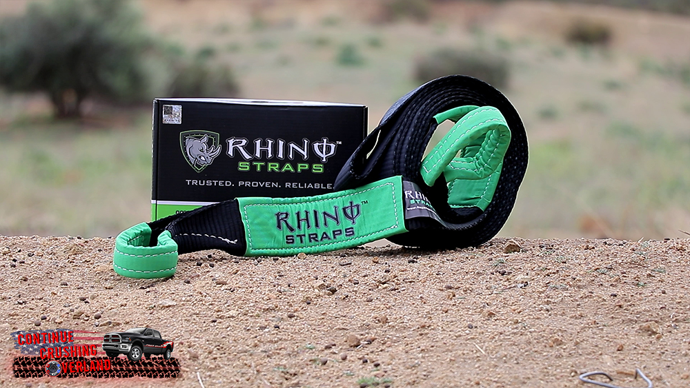 rhino usa recovery tow strap continue crushing tech